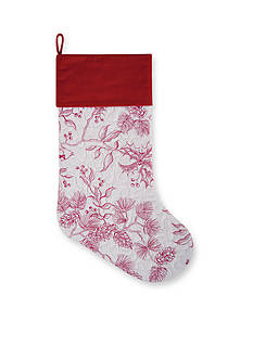 C&F 20-in. Evergreen Toile Stocking
