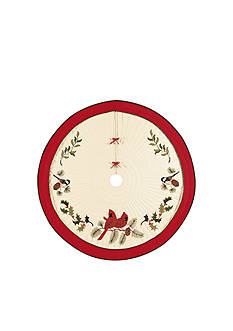 C&F Holiday Song Birds Tree Skirt