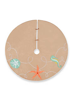 C&F 54-in. Christmas Ashore Tree Skirt