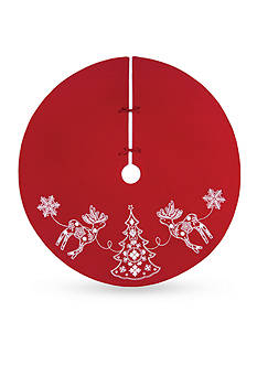 C&F 54-in. Nordic Holiday Tree Skirt