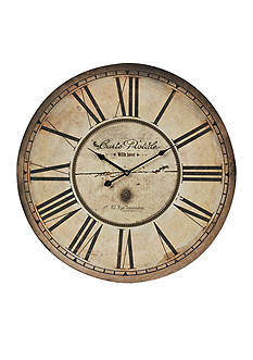 Sterling Carte Postal Clock