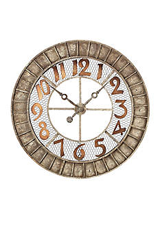 Sterling Round Outdoor Wall Clock