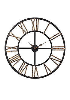 Sterling Roman Numeral Open Back Wall Clock