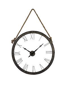 Sterling Leona Clock