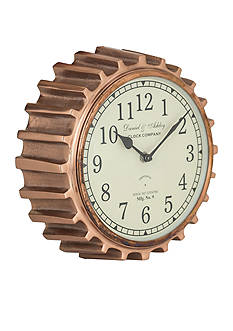 Sterling Citadel Series Aged Copper Wall Clock