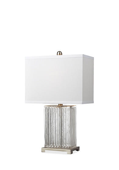 Dimond Lighting Ribbed Clear Glass Table Lamp