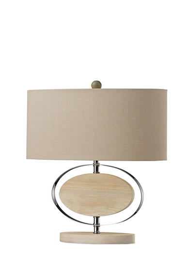 Dimond Lighting Hereford Bleached Wood Table Lamp