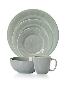 Juliska Puro Mist Gray Crackle Dinnerware & Accessories