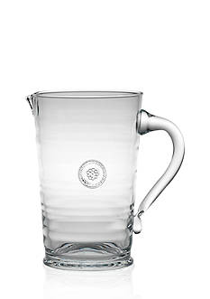 Juliska Berry and Thread Glassware Pitcher, 8.5-in.