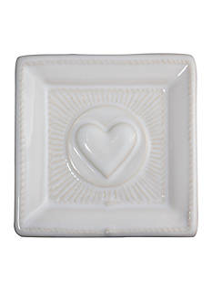 Juliska Cornerstones Whitewash Love 3.5-in. Tray