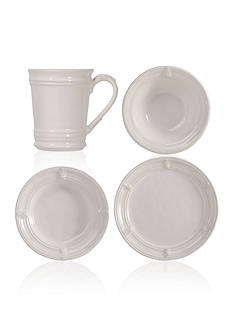 Juliska Acanthus Whitewash Dinnerware & Accessories