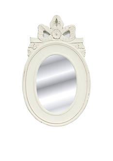 Fetco Home Decor Bedell Mirror - White
