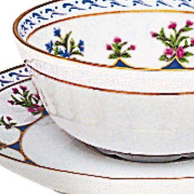 Designer Tabletop: Bernardaud: Chateau Blue Bernardaud CHATEAUB BL SALAD