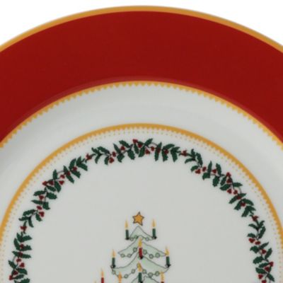 Christmas Tree Themes: Red Bernardaud Grenadiers Bread & Butter Plate