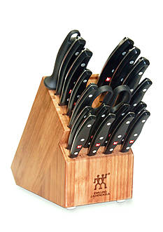 Zwilling J.A. Henckels 19-Piece Twin Signature Knife Block Set