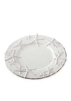 Mud Pie Coastal Naturals Starfish Dinner Plate