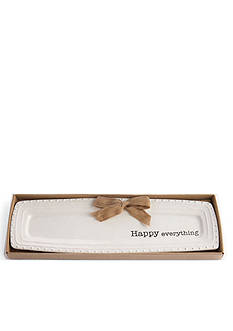 Mud Pie® Circa 17-in. Happy Everything Tray