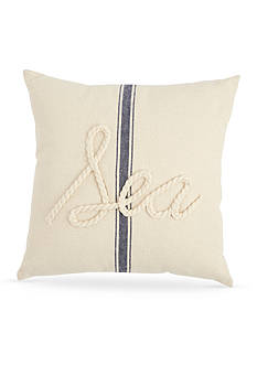Mud Pie® Anchors Away Sea Rope Pillow