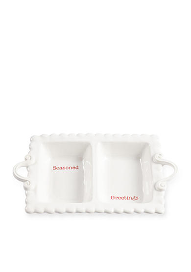 Mud Pie® Circa 3-Piece 'Seasoned Greetings' Mini Section Server and Spoons Set
