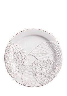 Mud Pie 9-in. Hydrangea Dessert Plate
