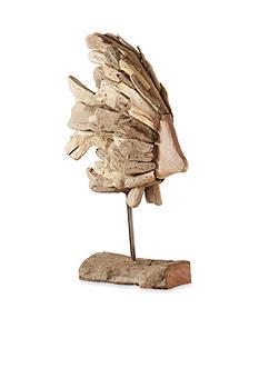 Mud Pie Driftwood Fish Sculpture