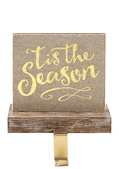 Mud Pie 6-in. 'Tis the Season' Stocking Holder