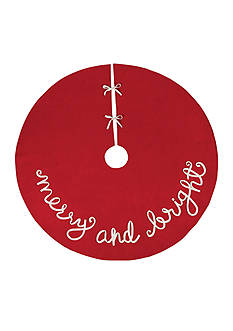 Mud Pie 54-in. Merry and Bright Tree Skirt