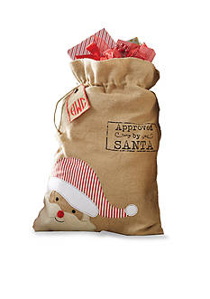 Mud Pie 31-in. Santa Personalized Gift Sack