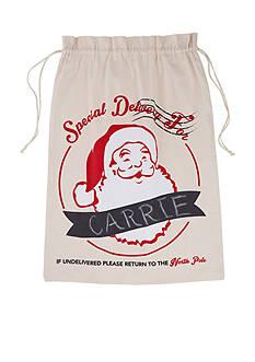Mud Pie 32-in. Santa Special Delivery Canvas Sack