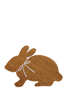 Mud Pie 29-in. Bunny Welcome Door Mat