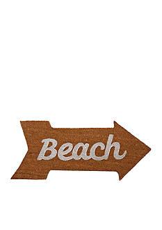 Mud Pie Anchors Away Beach Door Mat
