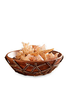 Mud Pie Coastal Naturals Starfish Serving Bowl