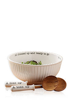 Mud Pie® Circa 3-Piece Salad Bowl Set