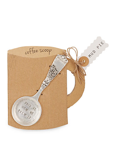 Mud Pie® Circa 5.5-in. 'This Is How We Brew It' Coffee Scoop
