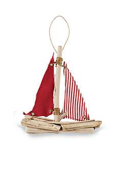 Mud Pie 6.5-in. Sailboat Ornament