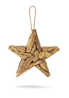Mud Pie 7-in. Driftwood Star Ornament