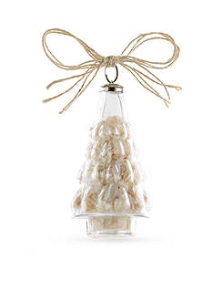Mud Pie 5-in. Shell Filled Tree Ornament