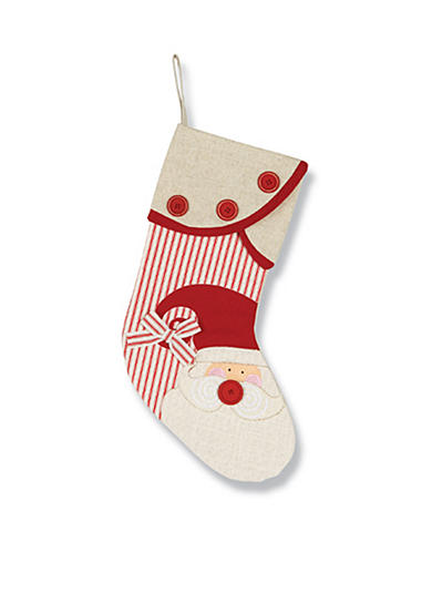Mud Pie® 19-in. Santa Stocking