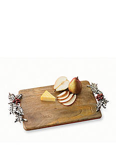Mud Pie 18-in. Holly Cutting Board
