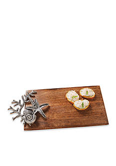 Mud Pie® Coastal Naturals Coral Cutting Board