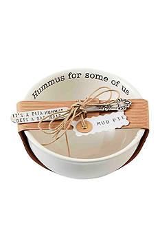 Mud Pie Circa Hummus Bowl and Spreader Set