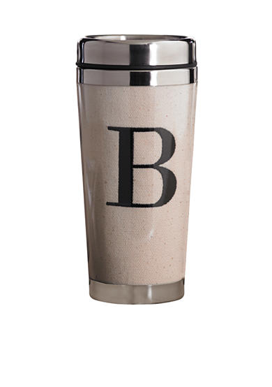 Mud Pie® Canvas Stainless Steel Tumbler