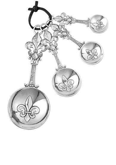 Ganz® Fleur de Lis 4-Piece Measuring Spoon Set