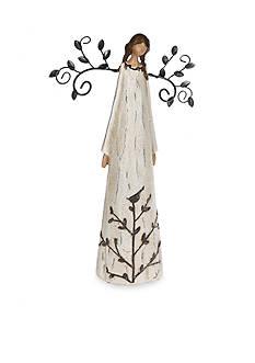 Ganz 11-in. African American Praying Deco Angel Figurine