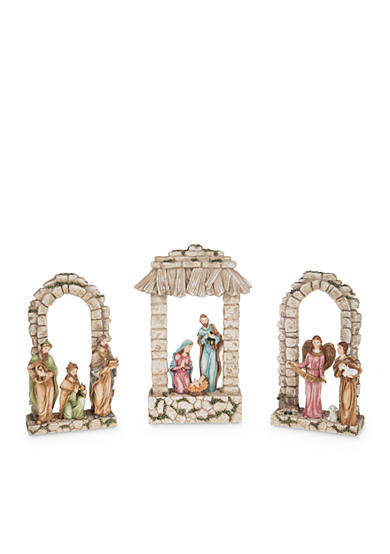 Ganz® 3-Piece Light Up Nativity Set