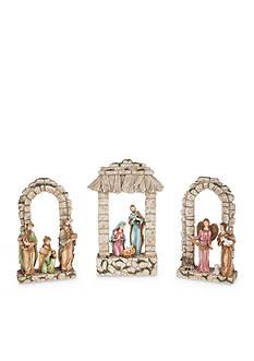 Ganz 3-Piece Light Up Nativity Set