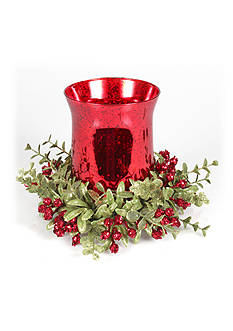 Ganz Mistletoe Tealight Set