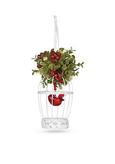 Ganz 6-in. Mistletoe Birdcage Ornament