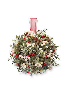 Ganz 10-in. Mistletoe Kissball Ornament