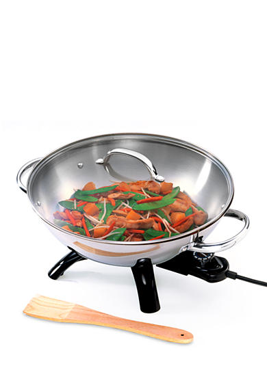 Presto Stainless Steel Electric Wok - 05900